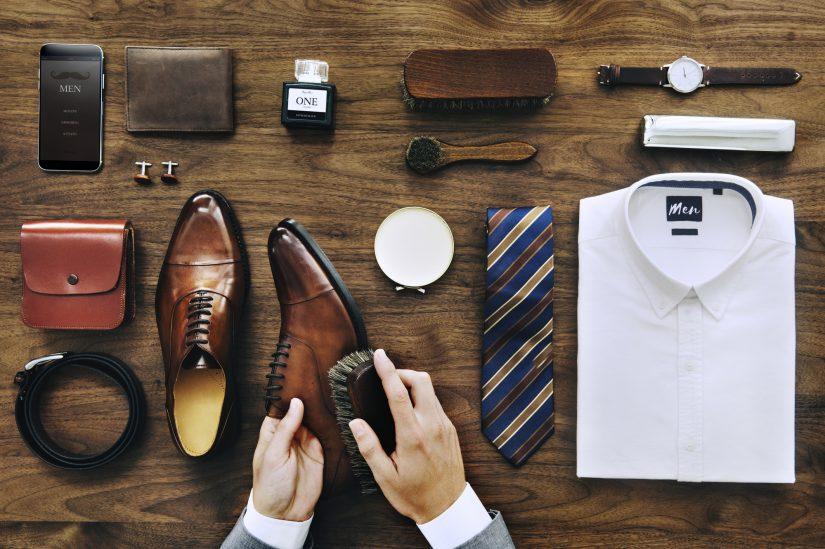 Die Garderobenpflege: Geputzte Schuhe