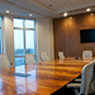 Interior of Conference Room in New Office Building