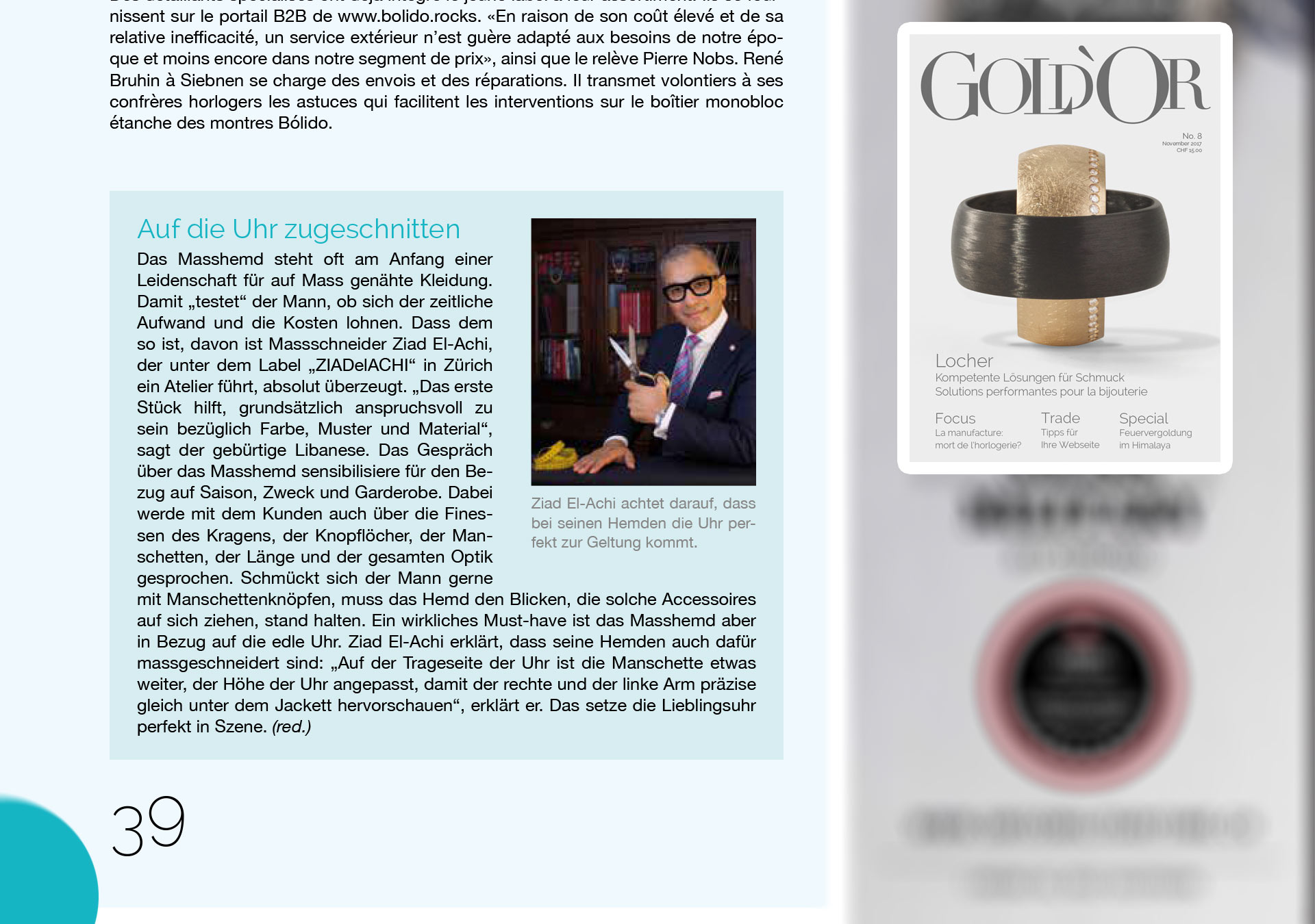 Gold'Or mit Ziad El-Achi